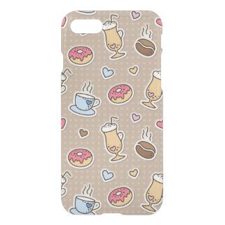 Coffee pattern iPhone 8/7 case