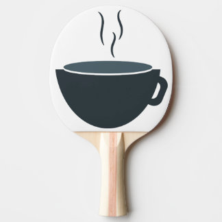 coffee ping pong paddle