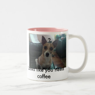 Coffee Please Two-Tone Mug