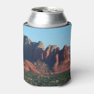 Coffee Pot Rock I in Sedona Arizona Can Cooler
