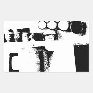 Coffee Pot Rectangular Sticker