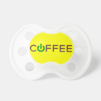 Coffee Power Green Pacifiers
