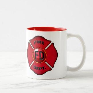 Coffee Powered Fire Fighting Beast Mug