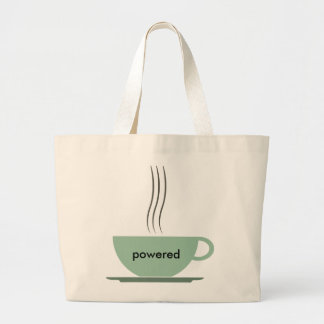 Coffee Powered Tote