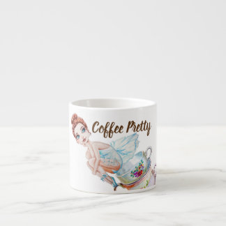Coffee Pretty Coffee Fairy Espresso Cup