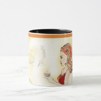 Coffee Pretty Contemplation Coffee Mug