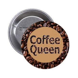 Coffee Queen Buttons