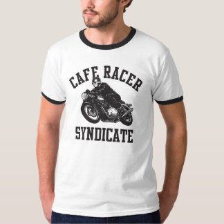 Coffee Racer Syndicate T Shirt