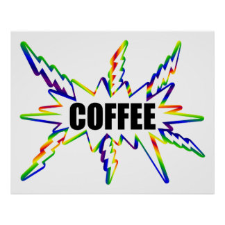 Coffee Rush Poster