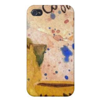 Coffee Set - CricketDiane Coffee Folk Art Covers For iPhone 4