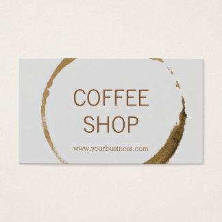 Coffee Shop - coffee stain