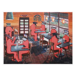 Coffee Shop Culture Photograph
