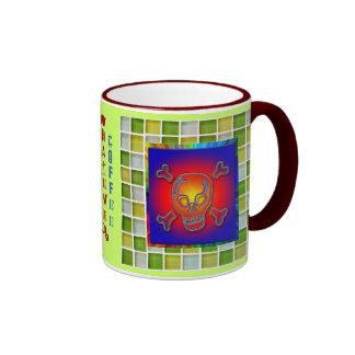 Coffee skull #1 mug