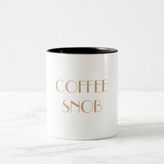 COFFEE SNOB Mub Two-Tone Mug