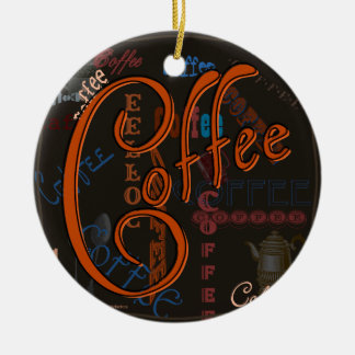 Coffee Spice Christmas Ornament