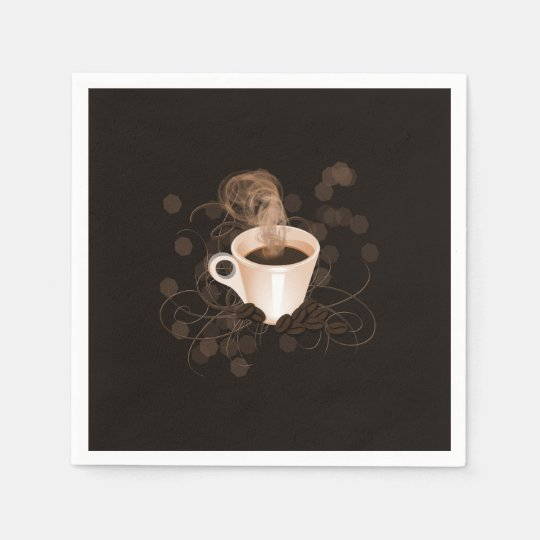 Coffee Splash Disposable Serviette
