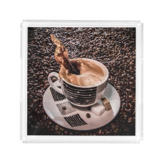Coffee splash tray