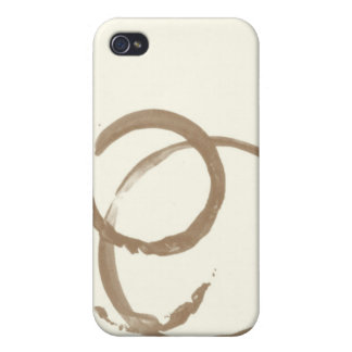 Coffee Stain iPhone 4 Case