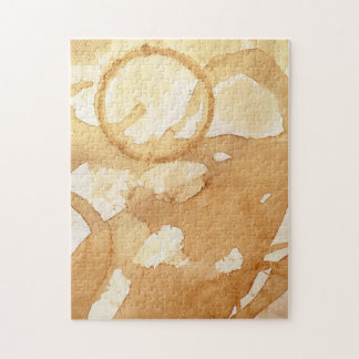 Coffee Stains Jigsaw Puzzle
