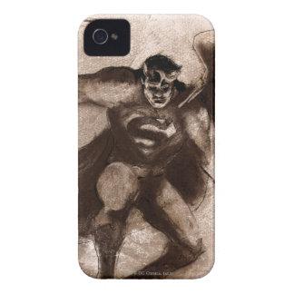 Coffee Superman iPhone 4 Case-Mate Case