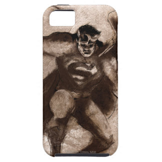 Coffee Superman iPhone 5 Case