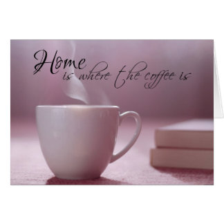 Coffee Sweet Coffee Note Cards