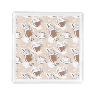 Coffee, sweet pattern