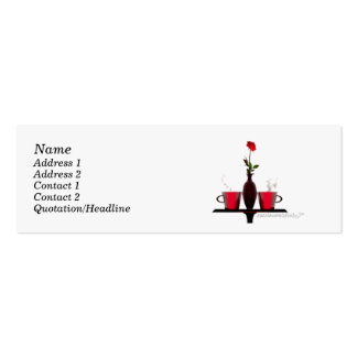 Coffee Table - Skinny Size Business Cards
