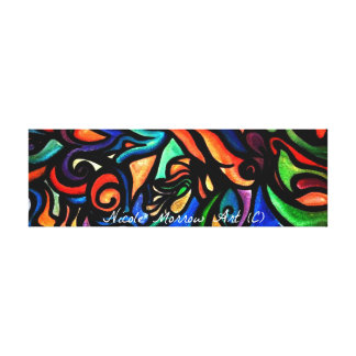 Coffee Table Stretched Canvas Gallery Wrap Canvas