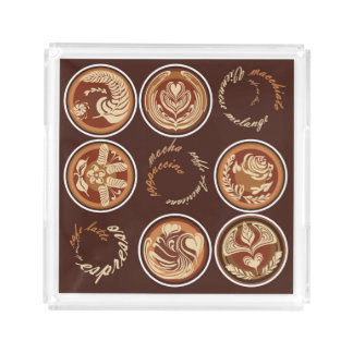 Coffee Talk Serving Tray