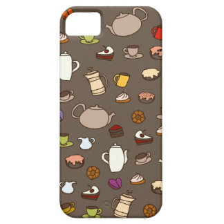 Coffee Tea Mug Cup pattern Barely There iPhone 5 Case