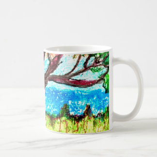 Coffee/Tea Mug with Tree Art