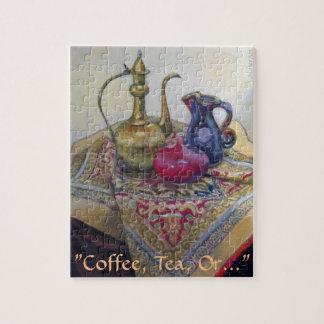 "Coffee, Tea, Or..."" Jigsaw Puzzle"