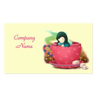 Coffee/Tea Shop Business Card