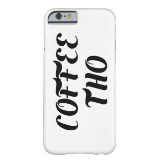 Coffee Tho iPhone Case