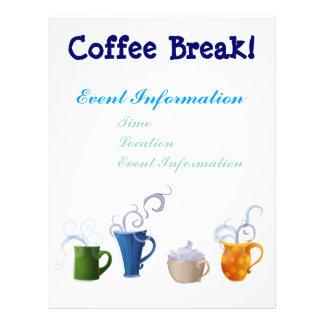 Coffee Time 21.5 Cm X 28 Cm Flyer