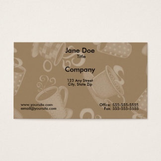 Coffee Time 2 Business Card