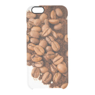 coffee time clear iPhone 6/6S case
