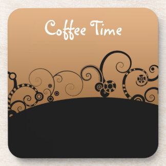 Coffee Time Cork Coasters