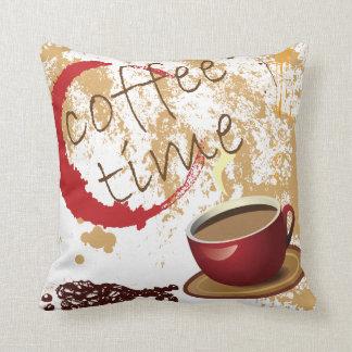 Coffee Time Cushion
