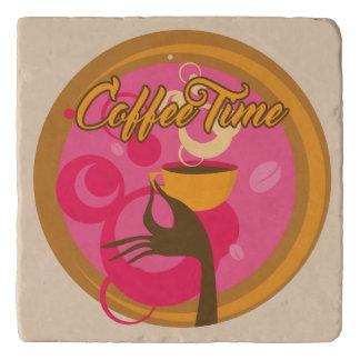 Coffee Time Custom Trivet