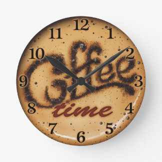 Coffee Time Decorative Wall Clock