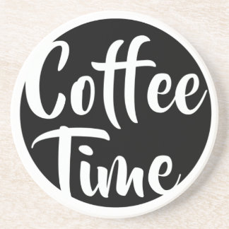 Coffee Time Drink Coasters