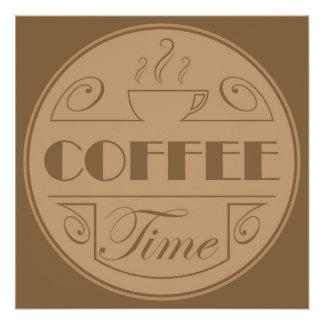 Coffee time emblem
