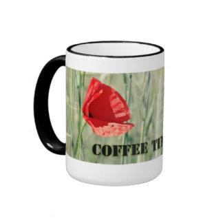Coffee time into nature coffee mugs