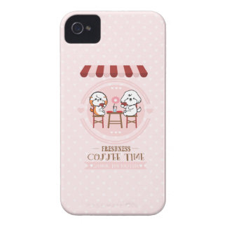 Coffee time iPhone 4 case