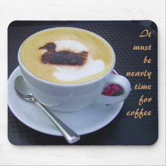 Coffee time mouse mat