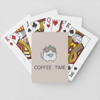 Coffee Time Playing Cards