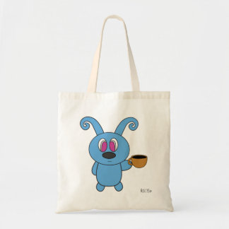 Coffee Time Rolly Tote Bag