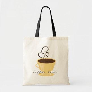 Coffee Time Tote Tote Bags